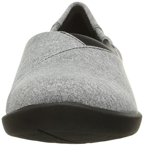 Sillian Clarks Heathered Grey Jetay mujer de soporte cloudsteppers Fabric pEEzqv