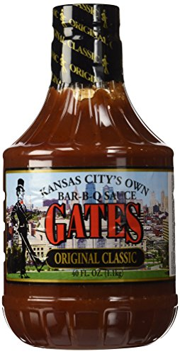 Gates Bar-B-Q Sauce Original Classic - 40 Oz. Bottle (2 Pack)