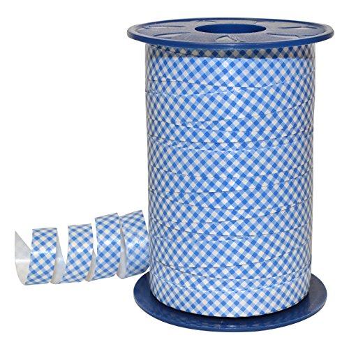Morex Ribbon 381/9-612 Polypropylene Gingham Curling Ribbon, 3/8