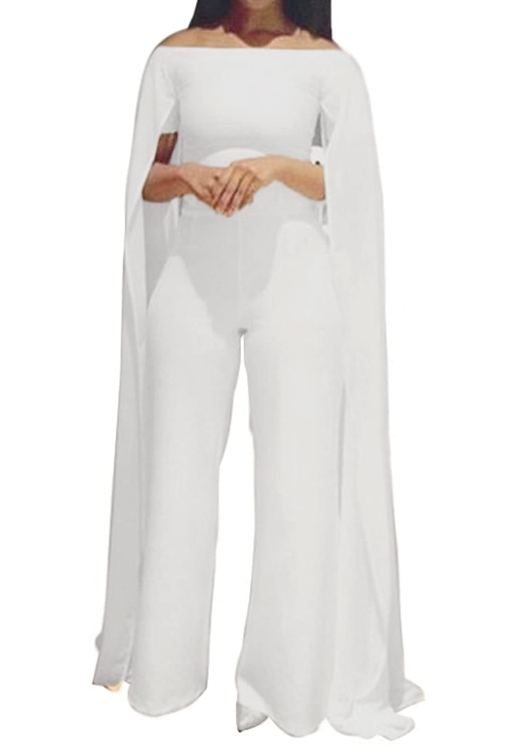 Sexy white pant suit