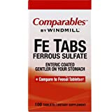 Comparables By Windmill Fe Tabs Ferrous Sulfate Tablets 100 Tablets For Sale