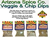 Dip Mix 4 Pack - Veggie & Chip Dips - All Natural