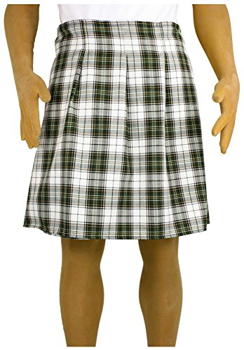 Golf Costume Scottish (Men's Scottish Kilt Costume (Plus (38,)