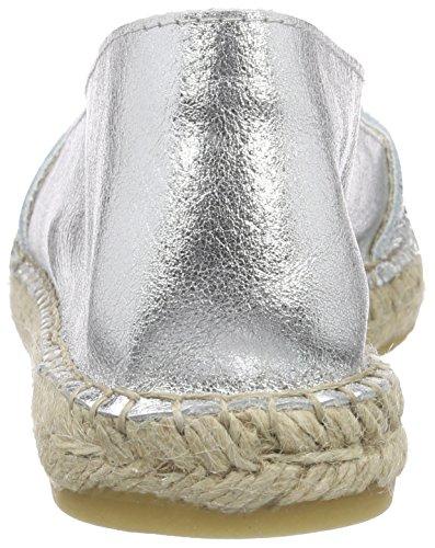 Argento Escamas 06 Donna plata Buffalo Basse 810730 Espadrillas aXZ66W5