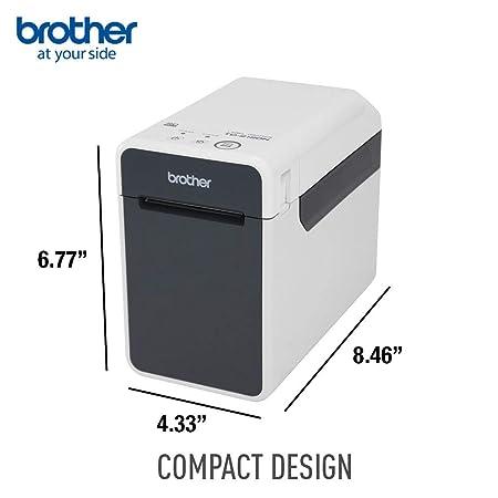 Brother TD-2120N - Impresora de Etiquetas (Térmica Directa, 203 x ...