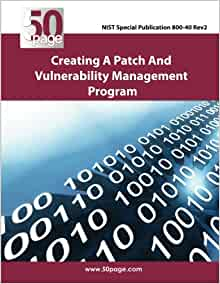 creating a patch and vulnerability management program paperback pdf