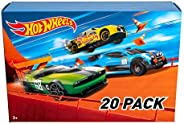 Hot Wheels 20-Car Gift Pack Assorted 116 Scale Toy Vehicles Great Gift for Kids and Collectors 3 to 93 Years O