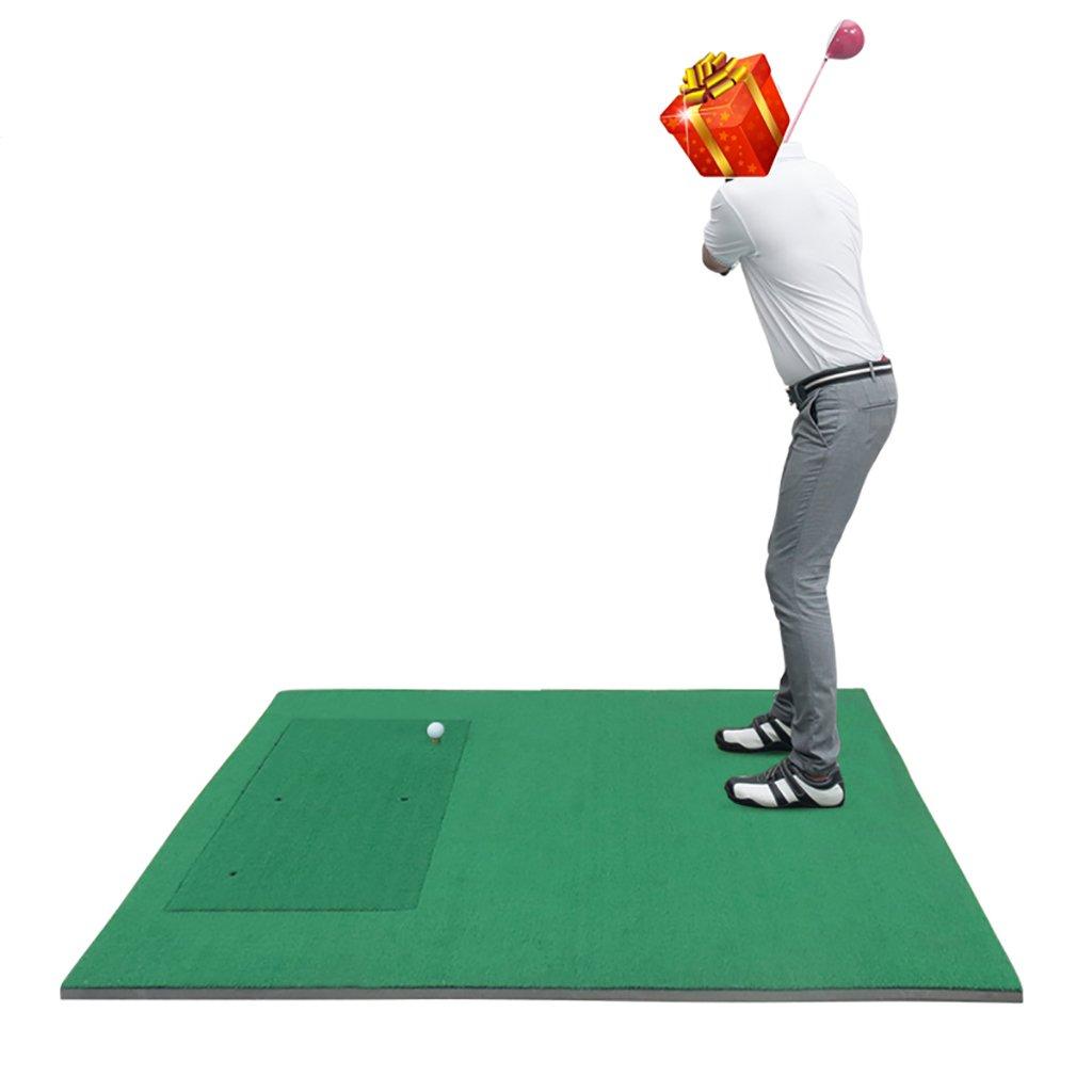 WENZHE ゴルフマットパターマット ゴルフマット取り外し可能な職業屋外持ち運びが容易1.5 * 1.7m   B076SGSGK8