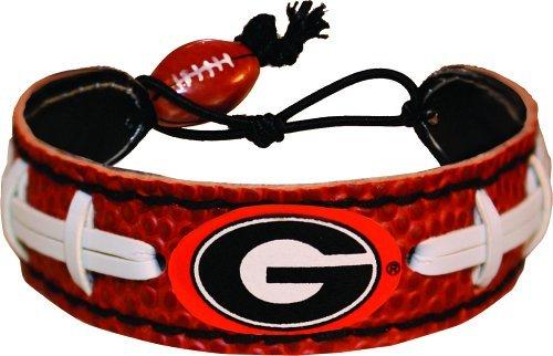 Wristband Bulldog (Georgia Bulldogs Power G Logo Classic Football Bracelet)