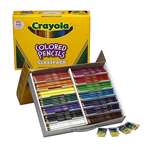 Crayola BAS135 426 Piece Long Colored Pencil Class Pack