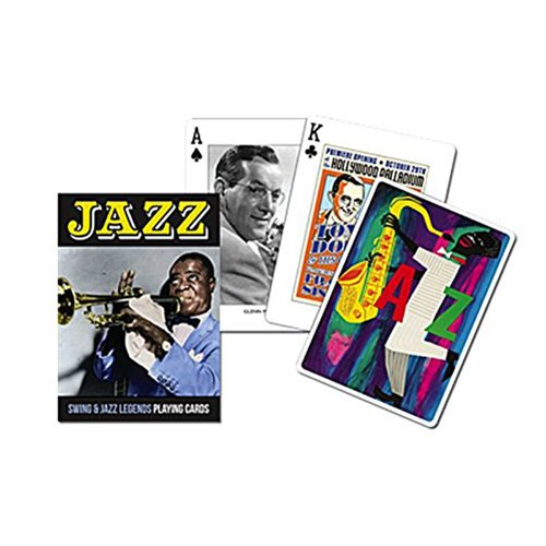 Piatnik Swing and Jazz Legends Single Deck Playing Cards Made in Austria