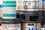 Stack! Co. half barrel beer keg spacer with room to