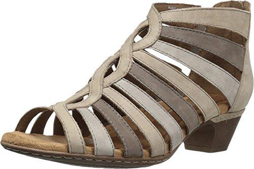 Cobb Hill Women's Abbott Gladiator Sandal, Light Khaki, 8...
