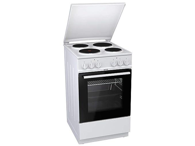 Gorenje E5121WH - Cocina (Cocina independiente, Blanco, Giratorio ...