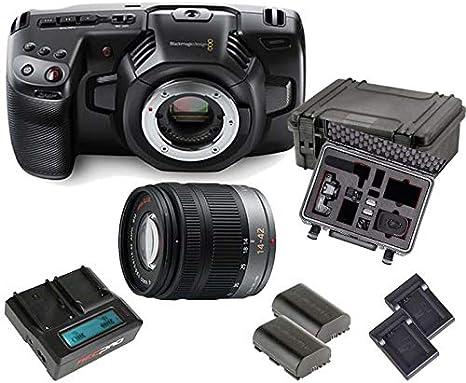 Kit Blackmagic Cinema Camera Pocket 4k Lumix Lens Amazon Co Uk Camera Photo