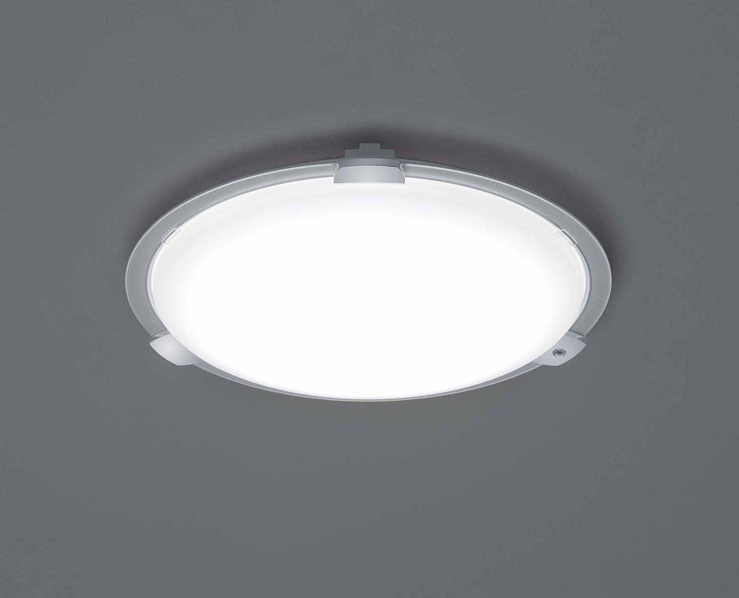 Trio leuchten led deckenleuchte yokohama acryl weiß 658715801