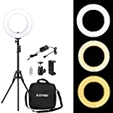 Zomei 14 Inches Dimmable Ring Light- 41W 3200-5500K SMD LED Lighting Kit with Stand and Phone Adapter for Makeup, Portrait Photography, Selfie, Camera Smartphone Youtube Video Shooting