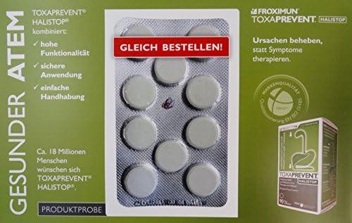 Foximun Toxaprevent Halistop Kautabletten - Detox Produktprobe