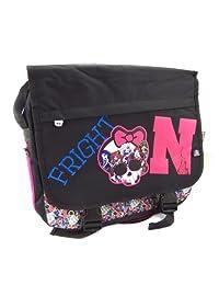Shoulder bag 'Monster High' black rose.