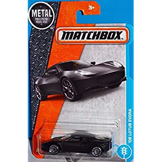 Matchbox 2017 MBX Adventure City '08 Lotus Evora 20/125, Black