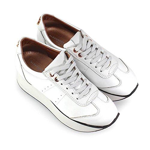 Zapatos Alexander Mujer de con Blanca Zapatilla 2018 Plataforma Primavera Smith Verano ZqZrfY