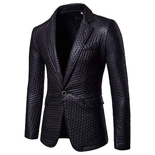 Hx Da Con Taglie Lungo Comode Schwarz Slim Maniche Giacca Lunghe Blazer Elegante Fashion Abiti Fit Uomo Abito A Pulsante E7vUrEwqzB