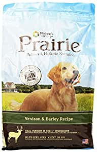 Prairie Venison & Barley Recipe Dry Dog Food by Nature's Variety 4.5 lb Bag