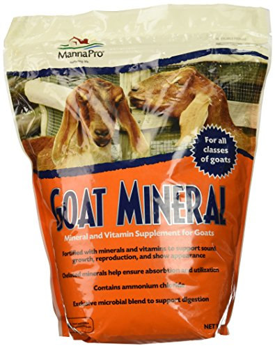 Manna Pro Goat Mineral Supplement, 8 lb