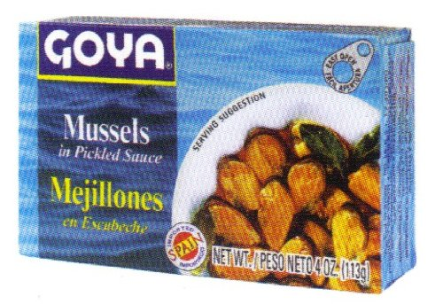 Goya Mussels in Pickled Sauce 4 oz by Goya (Image #1)