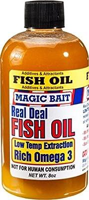 Magic Bait Real Deal Fish Oil - Menhaden