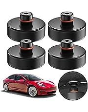4 stycken domkraft gummidyna Tesla Model 3 för domkraft och universell gummidyna för personbilar SUV Robust och praktisk bilinställning för att skydda domkraft fordon och lastbil från repor