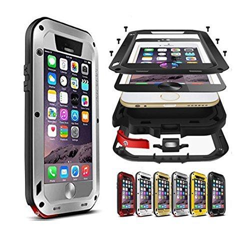 2 opinioni per Cover per Apple iPhone 6/6S Plus, antiurto, a prova di polvere/sporcizia/neve,