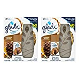 Glade Automatic Spray Air Freshener Starter Kit, Cashmere Woods, 6.2 Ounce - 2 Packs