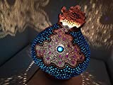 2016 The Headcase Unusual Gourd Lamp Shade Unique Handcrafted Christmas Birthday Gift Idea Psychedelic Boho Hippie Decor