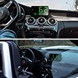 TIMPROVE Universal Digital Car HUD Head Up