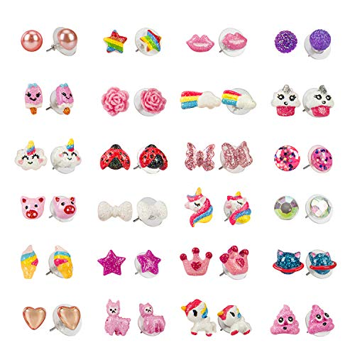SkyWiseWin Earrings for Girls - Hypoallergenic Earrings for sale  Delivered anywhere in USA