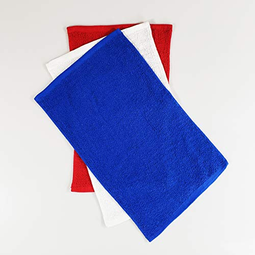 - Set of 12 Assorted- Affordable Cheap Rally Towels