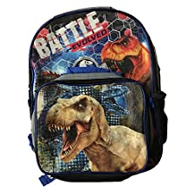 Jurassic World Large School Backpack with Insulated Lunch Bag - Kids