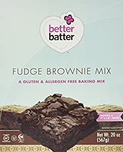 Better Batter Fudge Brownie Mix, 20 Ounce