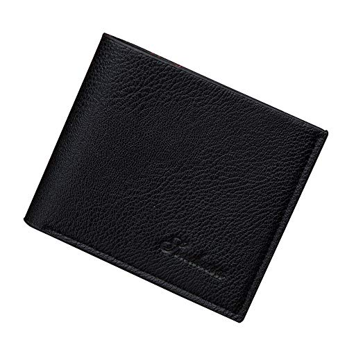 Clearance Litetao Bifold Wallet Stylish PU Professional Business Purse ID Credit Card Holder Gift (Black) ()