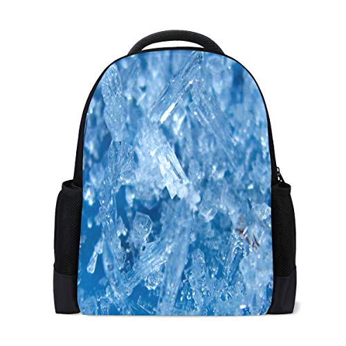 Backpack Ice Icicle Personalized Shoulders Bag Classic Lightweight Daypack for Men/Women/Students School ()