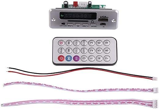 Mp3 Modul Dc12v Mp3 Decoder Audio Decoder Board Diy Elektronische Decoder Modul Mit Display Usb Sd Audio Fm Radio Mit Fernbedienung Baumarkt