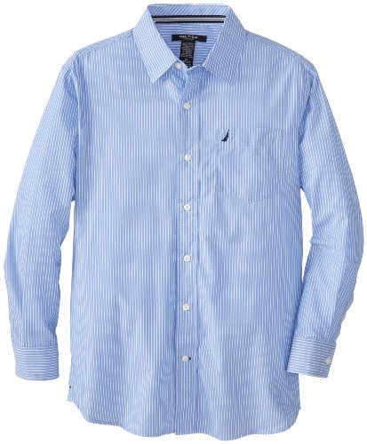 Nautica Boys Long Sleeve Striped Shirt