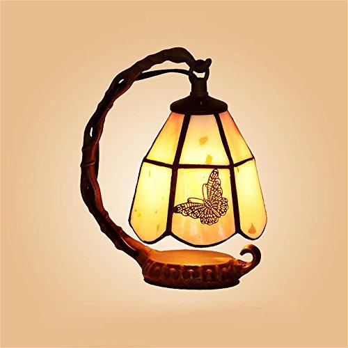 Gweat Creative LED Warm Bedside Lamp Feeding European Small Luxury Lamp Night Light by Gweat Tiffany
