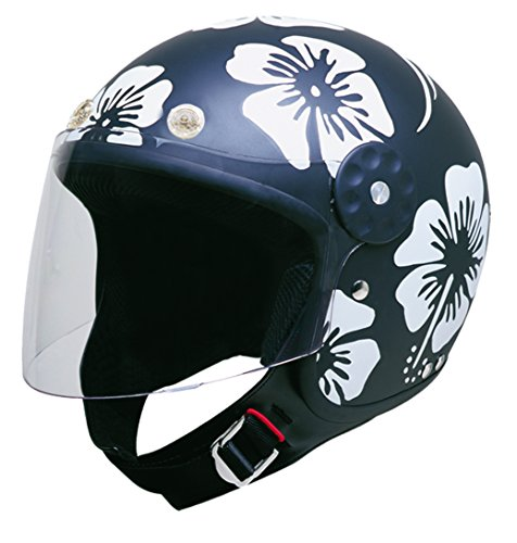 Flower Motorcycle Helmet - 9