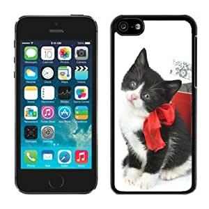 MMZ DIY PHONE CASEIndividualization ipod touch 4 TPU Case Christmas Cat Black ipod touch 4 Case 27