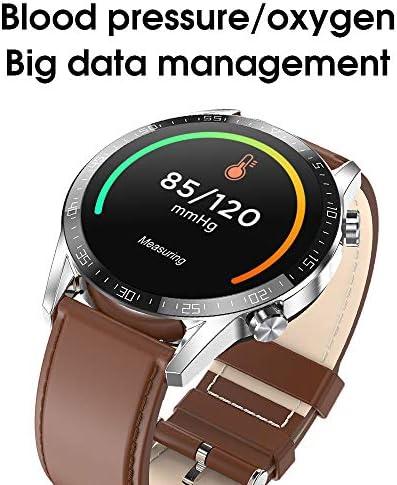 DDL Intelligente Orologio per Android/iOS Cellulari, Supporto Wireless Charging, Bluetooth Tracker Salute con cardiofrequenzimetro, Digitale per Le Donne Gli Uomini