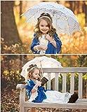 Tinksky Lace Umbrella Parasol Romantic Wedding