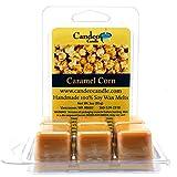 corn burner - Caramel Corn, Super Scented Soy Melt Cubes, Pack of 2- Use in Tart Warmers, Tea Light Warmers, Oil Warmers or Scentsy Warmers!