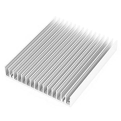 DealMux PC Motherboard radiador refrigerador Fin dissipador de calor dissipador de calor 120mmx100mmx18mm